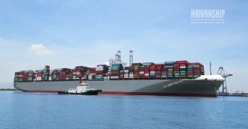 Assisting M/V Manchester Bridge (155.000 DWT) <span class=