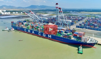 ​CMA CGM Marco Polo: The Largest Container Ship in the World arrives in Vietnam