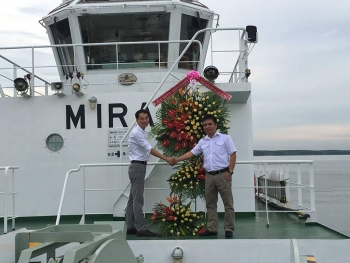 Haivanship recruits a new tugboat from Japan, Mirai 6.<span class=