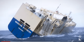 Salvage of the Vessel Modern Express by SMIT Salvage