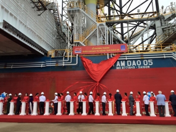 JV Vietsovpetro has launched a new Tam Dao-05 Jack Up Drilling Rig