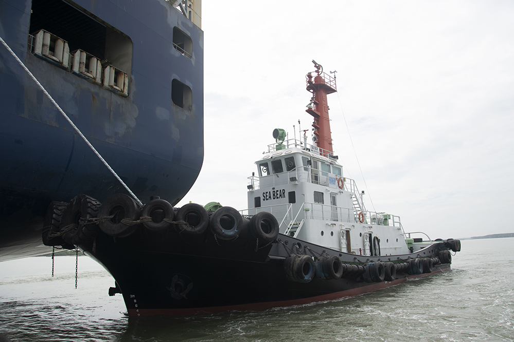 tugboat in vietnam