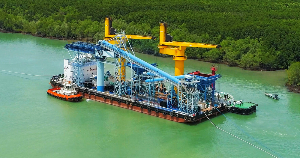 coal transshipment in vietnam